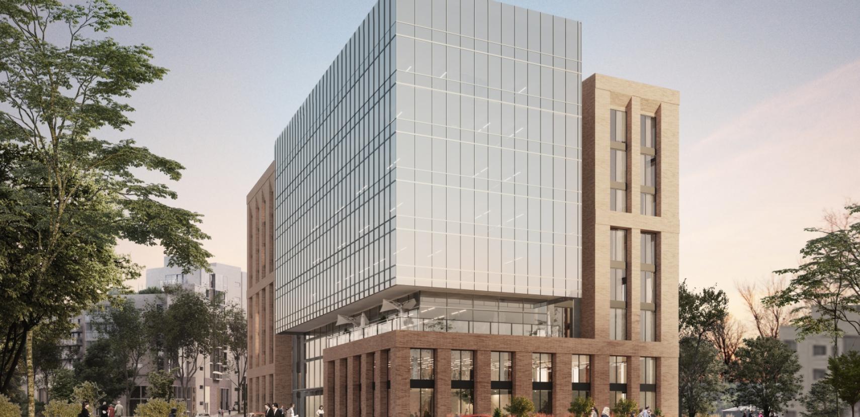 Новітній бізнес-центр у серці ІТ та інновацій